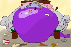 Fatty Mewtwo 1 by eorpheus