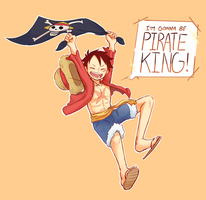 I'm Gonna Be Pirate King! by GhostOfPing