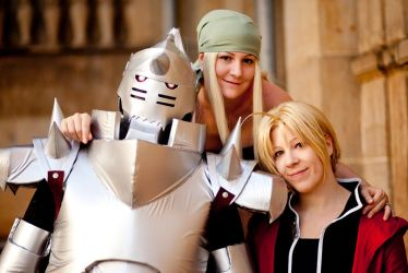 FMA - Three friends by Majin-sama
