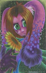Vibrance of a Flower by shad-zee