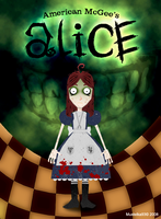 Alice in Grimm style by Mustelka93