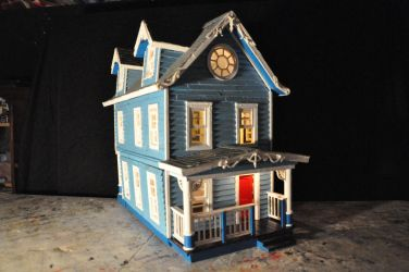 Blue House miniature WIP Pic-1 by NickMears