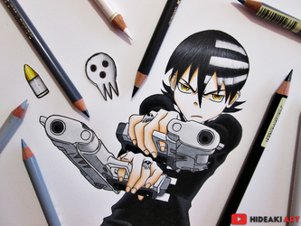 Death the Kid || Soul Eater by HideakiArtReal