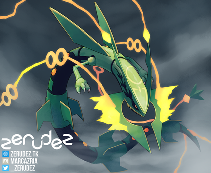 My Rayquaza Will Consider It by zerudez