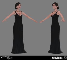 007 Quantum of Solace - Vesper Dress by screenlicker