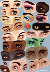 Eye Study by GlassLotuses