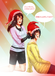 Xmas: Hats by LzzleFzzle