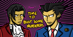 Bustin' murderers, it's time. by Mr-SF