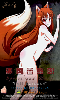 Spice and wolf poster by AG-HDerek345