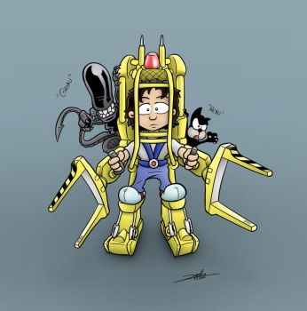 Ripley Power Loader by Dremin