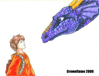 Ben and Firedrake by Crownflame