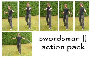 swordsman II action pack by syccas-stock