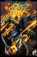 Ghost Rider for Hire by logicfun