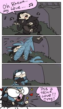 The Witcher 3, doodles 106 by Ayej