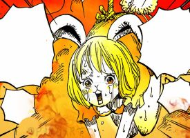 One Piece Chapter 847+ Luffy and Big Mom. Carrot by Amanomoon