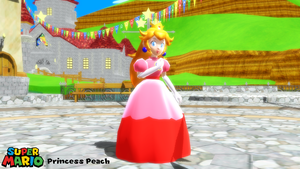 (MMD Model) Princess Peach (Classic) Download by SAB64