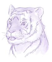 Tiger Blep by ErinPtah