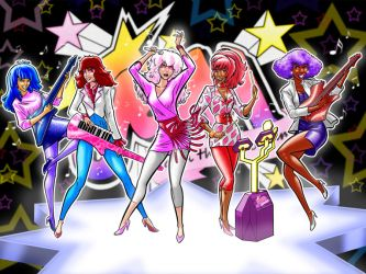JEM and the HOLOGRAMS by Thuddleston