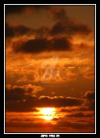 the sun is going down. 1 by Alexandre-Bordereau