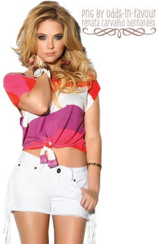 PNG 24 - Ashley Benson by odds-in-favour