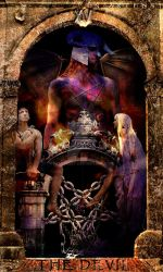 The Devil (Tarot) by N-arteest