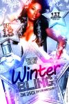 Winter Bling Flyer - Front by Brainz-Designz