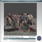 Zombies REDSC Racoon City by Adngel