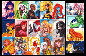 Marvel 70th: Part One by CapnFlynn