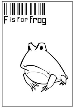 #6 F Is For Frog by Heartlessomen
