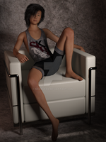 Genesis 8 Teen 2 - Seated 2  by scraverX