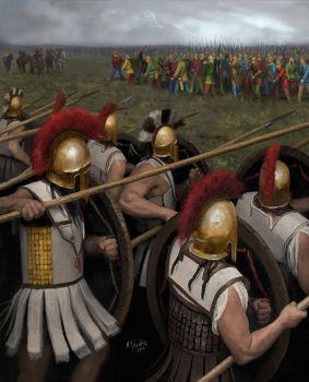 Battle of Platae by EthicallyChallenged