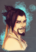 Hanzo by Dr-Parasite