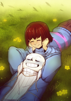 Franszine Project Banner [Undertale] by ElleAP