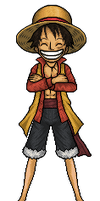 Luffy by hurriseether