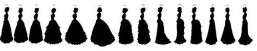 Victorian Silhouettes by lady-of-crow
