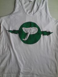 Pixies Shirt. Green Logo by Lime-Sun