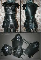 Female leather armor by Shattan