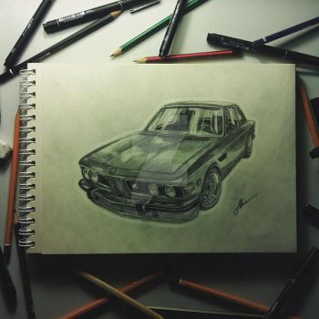 BMW 2800CS by WebagentOnAir