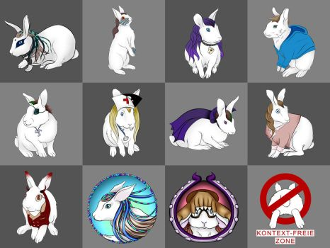 Lots of Bunnies by Andecaya