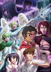 THE ANGEL WITH BLACK WINGS Volume 3 Promo poster by avimHarZ