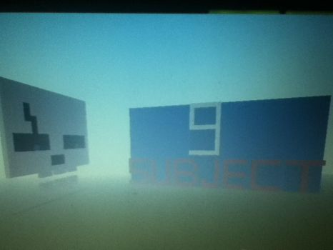 subject 9 and minecraft by joshlhawks