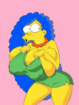 Marge vs Tiny dress by folgore2010