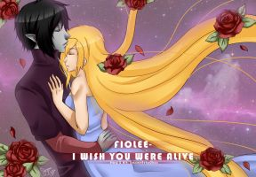 FioLee-I wish you were alive teaser 5 by suzumecreates