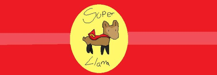 Super Llama by Station-art