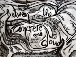 Between the concrete and clouds by luartandcomics