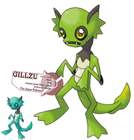 Pokemon from the black Lagoon by G-FauxPokemon