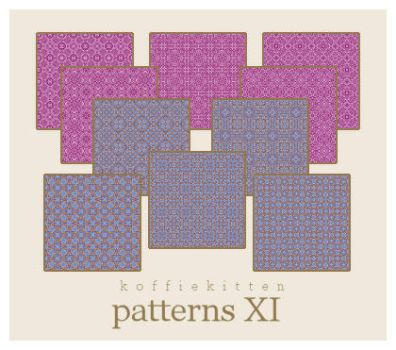 patterns XI by koffiekitten