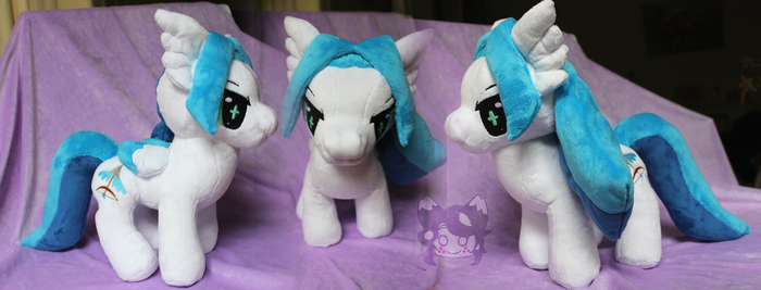 Commission: Custom Ullr Plushie by Scarlet-Songstress