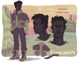 E-vergree-N sheet - November v.2.0 by CrowFaced