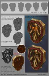 Roleplay Dwarven Shield Idea by IRealTidyDesignI